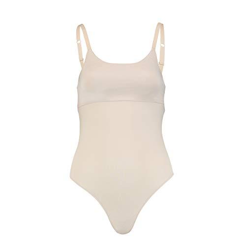 PUMA Women 2ND Skin Bodysuit 1P Parte Inferior de la Ropa, Rose Polvo, M para Mujer