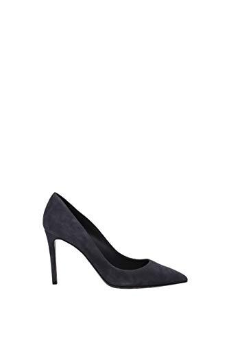 Dolce&Gabbana Women's Court Shoes Auditor's Target Value Grey Size: 4.5