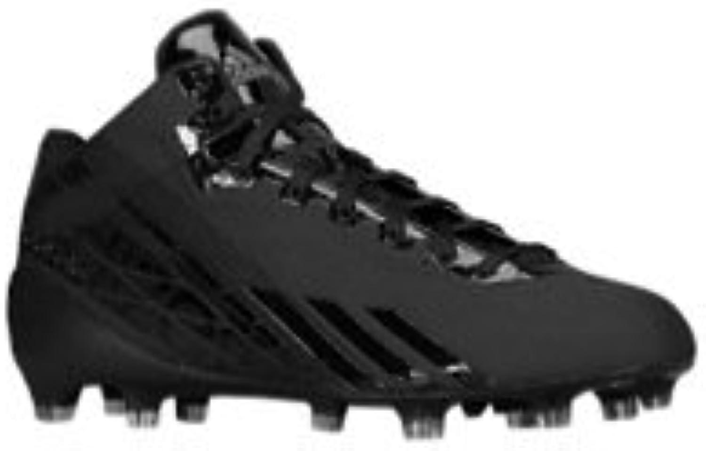 Adidas New Adizero 5 Star 2.0 Mid Mens 10 Football Molded Cleats Black Black
