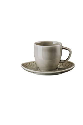 Rosenthal 10540-405201-14715 Junto Pearl Grey Espressotasse 2tlg (1 Set)