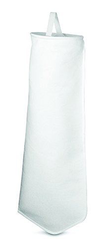 Rosedale Products PE-25-P2S Polyester Felt Filter Bag, 25 μ, 7' x 32', White (Pack of 50)