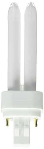 Sylvania 21120 Compact Fluorescent 2 Pin Double Tube 4100K, 13-watt