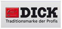 F. DICK 7650428 Multikut-Stahl, flach, feiner Schnitt, 28 cm