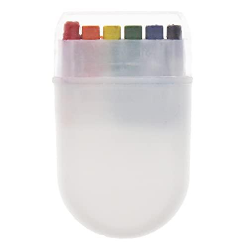 Zac's Alter Ego Gay Pride Festival Rainbow Flag Crayon Fanbrush