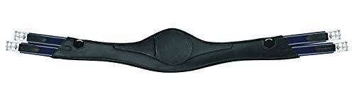 Passier Ledersattelgurt mit breitem Gurtzentrum schwarz 120cm