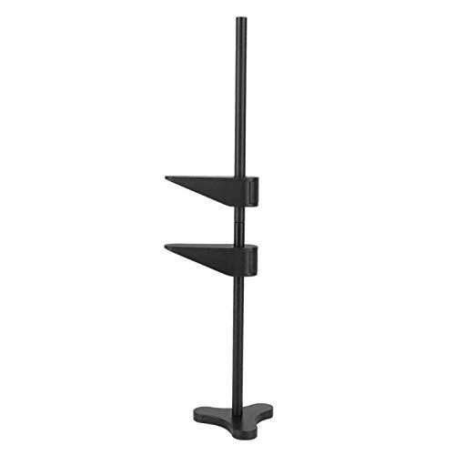 XZYC Halterung Graphicsgpu Stützhalter Metall Vga Grafikkartenständer Kopfhörer Halterung Desktop-Computer Grafikkarte Klammerrahmen -_Schwarz
