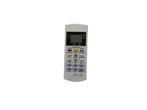IOUVS Telecomando for Panasonic CS-W12EKR CS-W24DKR CS-C12DKH CS-C9DKT CS-W18DKR CS-C9DKH CS-C9DKV CS-C9DKZW condizionatore d'Aria