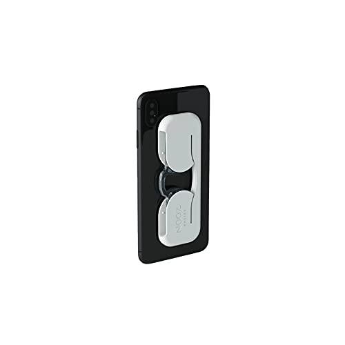 Nooz Smartphone - Occhiali da lettura senza astine - Custodia extra piatta con astuccio adesivo - Rettangolare 6 colori 5 diottrie - Sempre a portata di mano