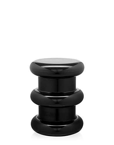 Kartell 885209 Hocker, Plastik, schwarz, 35 x 35 x 46 cm
