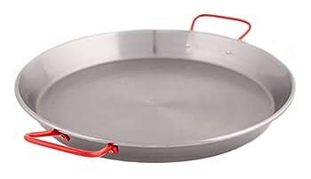 Garcima 15-Inch Carbon Steel Paella Pan 38cm