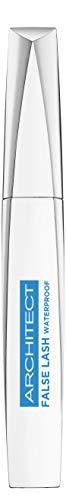 L'Oréal Paris Wasserfeste Mascara, Schwarze Wimperntusche für dramatischen Schwung und Falsche-Wimpern-Effekt, False Lash Architect, Nr. 00 Waterproof Schwarz, 1 x 10,5 ml