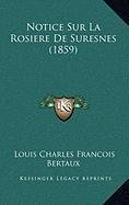 Notice Sur La Rosiere De Suresnes 1859 French Edition