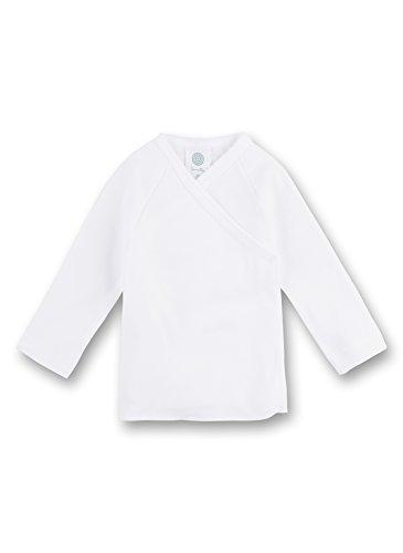Sanetta 307500 - koszulka ze skrzydełkami/koszulka do przewijania z długim rękawem, kolekcja Basic Collection, Organic Cotton biała (inne kolory)