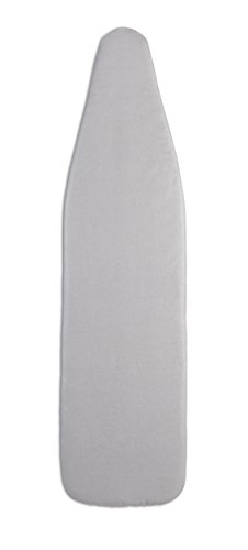 Epica Silicone Coated Ironing Board Cover- Resists Scorching and Staining - 15'x54' (Board not Included) (Grey)