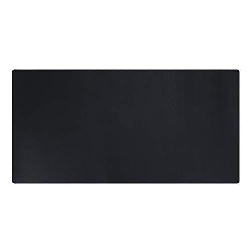 GORESE Sous-mains Bureau en Cuir PU (Noir, 90x43CM)