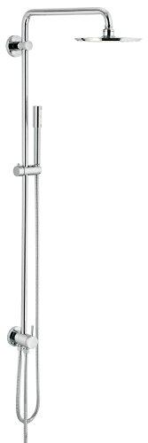 GROHE Rainshower 210 | Brause- und Duschsysteme - DUSCHSYSTEM | mit Sena Handbrause, mit UMSTELLUNG (Hand-, Kopfbrause) | 27058000