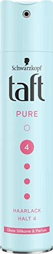 TAFT Haarlack Pure Ohne Silikone & Parfum Halt 4, 250 ml