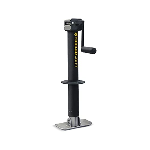 JXC- Trailer Center Mount Tongue Jack - Drill Powered, 5K Capacity (Includes Free Drill Attachment)