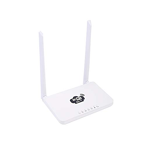 Docooler wireless router LTE 300 Mbps mobiele MiFi draagbare hotspot met simkaartsleuf wit