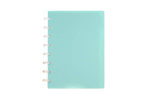 Quaderno A4 A5 rimovibile a foglia larga per studenti colorati con foro a fungo per rilegatura di carta con anello a disco diario aziendale Notebook-C,A4