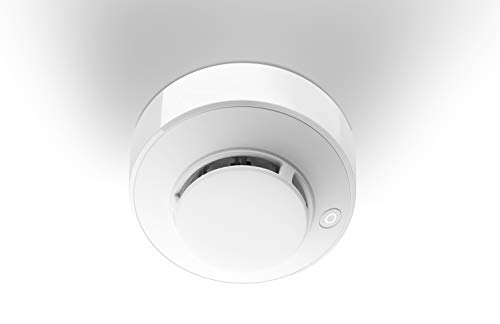 LUPUS Rauchmelder V2 für unsere Smarthome Alarmanlagen, batteriebetrieben, Sabotagekontakt, Alarmierung via Sirene / App / Telefon / Wachzentrale