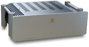 SimAudio, Moon W6, Verstärker, 650 Watt, 4 Ohm, silber