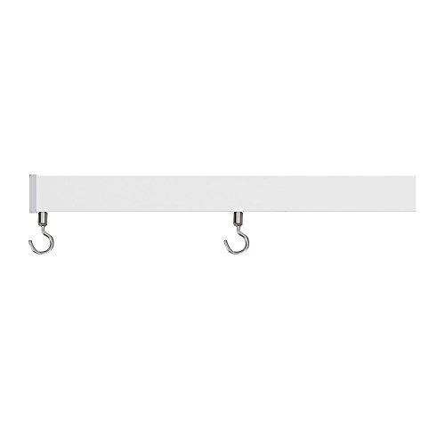 ピクチャーレールデコレールレール本体&部材セット■ホワイト▼150cmZ3K