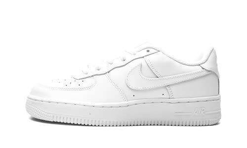 Nike Air Force 1 LE (GS), Zapatillas de básquetbol, White/White, 36.5 EU