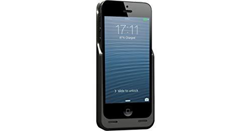 Novodio Thin Juice Noir - Coque Batterie Ultra-Plate 2000 mAh iPhone 5 / 5s / Se
