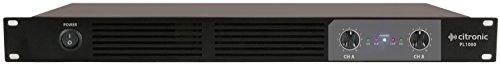 Price comparison product image Citronic / PL Series 1U Digital Amplifiers / 2 x 540W