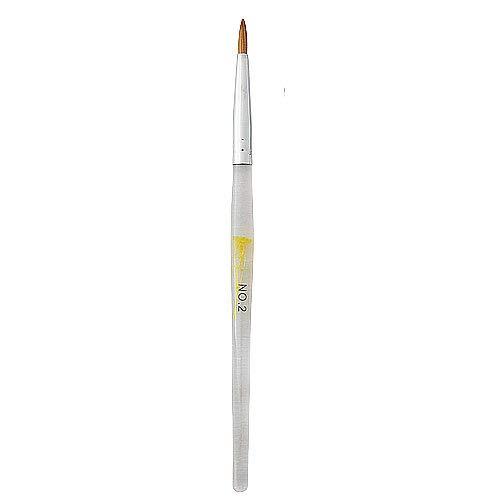 'Profi' acryl nagel penseel # 2 voor acrylnagels in een luxe koker voor nagelstyliste. Goedkope & goede acryl nagel penseel!