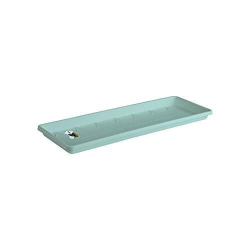 Elho Barcelona Trough Saucer 40 - Mint - Exterior & Balcón - Ø 34.9 x A 2.8 cm