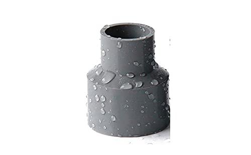 1 UNIDS PVC REDUCCIÓN DE PVC 20,25,32,40,50,63,75,90,110mm Solvent métrico Solvent Solvent Presión de la Soldadura...