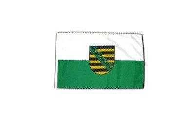 Fahne Flagge Deutschland Sachsen 30 x 45 cm