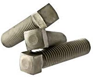 Square Head Set Screw Ft Coarse 3//8 Inch-16X1 3//4 Inch Cup Point Case Hardened 1,000//Bulk Pkg.