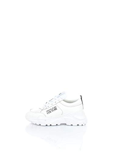 VERSACE JEANS COUTURE E0YWASC1-71606 Sneakers Basse Uomo Bianco 42