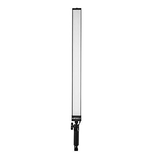 Walimex pro LED Strip Light Slim 300 Daylight – LED Leuchtstab, Strip Light Lichtstab, 30 Watt, 3.300 Lumen, dimmbar, 5600K Tageslicht, Alu Gehäuse,...