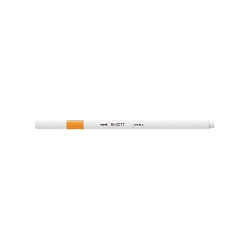 三菱鉛筆 EMOTT(エモット) 水性サインペン PEM-SYブライトイエロー3 【× 10 本 】