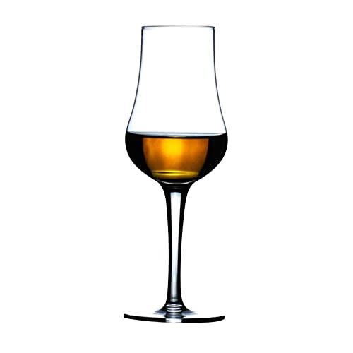 DealMux Copa de vino tinto Vaso de cristal Taza de whisky Transportador de vino Taza de copa de vino Decoración elegante (Color: 1 Pcs, Tamaño: 15.5x5.5cm)