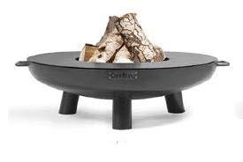 DS Exklusive Feuerschale - Feuerstelle in 4 Größen und Zubehör wie Abdeckung - Grillplatte - Funkenschutz - Handmade Quality (Grillplatte 80 cm)