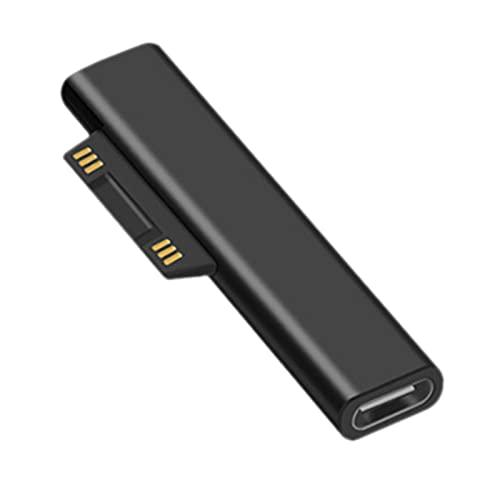 Gazechimp El Adaptador de Carga USB C para Surface Pro Funciona con Un Cargador de 15 V Y 45 W