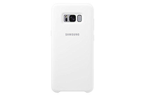 Samsung EF-PG955TWEGWW Silikon Schutzhülle für Galaxy S8 Plus weiß,