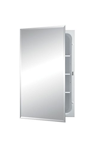 Jensen 1459X Bevel Mirror Medicine Cabinet, 16' x 26'