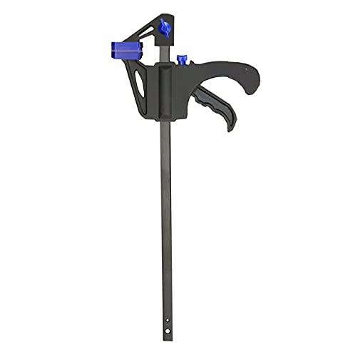 Azul 2/4/6/8/10PCS Trabajo de carpintería Barra de trabajo F Set Hard Quick Ratchet Lanzamiento BRICOLAJE Herramienta de la mano de carpintería (Size : 8pcs 6inch clips)