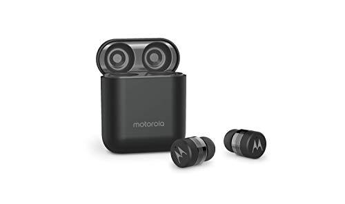 Motorola Vervebuds 110 True Wireless Compact Headphones IPX4 Water Resistant - Black