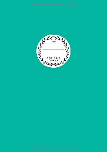 Dot Grid Journal: DIN A5 | Notizbuch Gepunktet | 110 Punktraster Seiten | Blanko Planer Für Bullet Journaling | Bermudablau