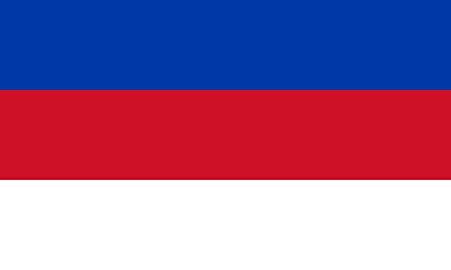 Unbekannt magFlags Tisch-Fahne/Tisch-Flagge: Sorben 15x25cm inkl. Tisch-Ständer