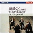 ベートーヴェン:弦楽四重奏曲第11番&第12番