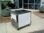 Nelson BDC6 Ice Cream Dipping Cart