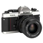 Nikon FM-10 SLR Camera with 35-70mm f/3.5-4.8 Zoom Lens...